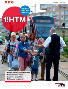 Tijdens de reportages voor HTM worden desgewenst meteen foto's gemaakt. Eén daarvan kreeg de mooiste plek: de cover.